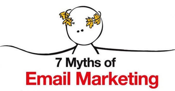 7 mituri despre email marketing pe care nu ar trebui sa le crezi (Infografic)