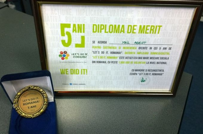 Gala Let's do it, Romania - 5 ani