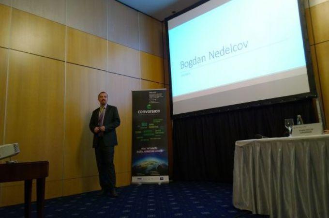 Bogdan Nedelcov speaker la Digital Marketing Forum 2015