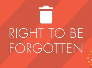 Dreptul de a fi uitat
